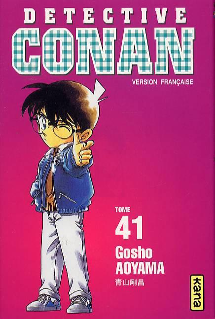 Couverture de Détective Conan -41- Tome 41