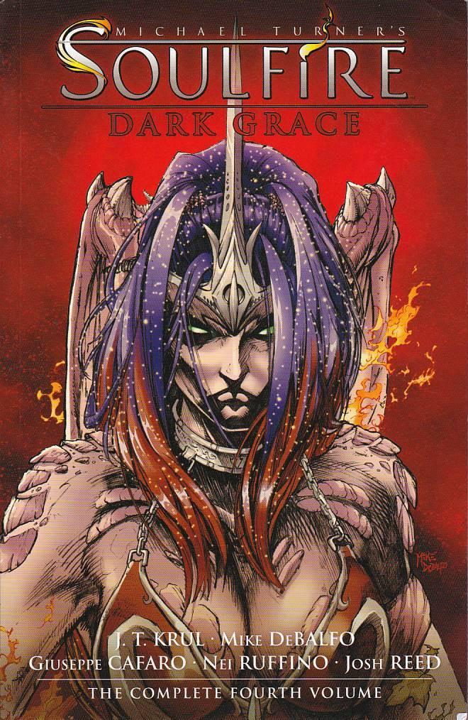 Couverture de Michael Turner's Soulfire (Aspen comics - 2004) -INT04- Dark Grace