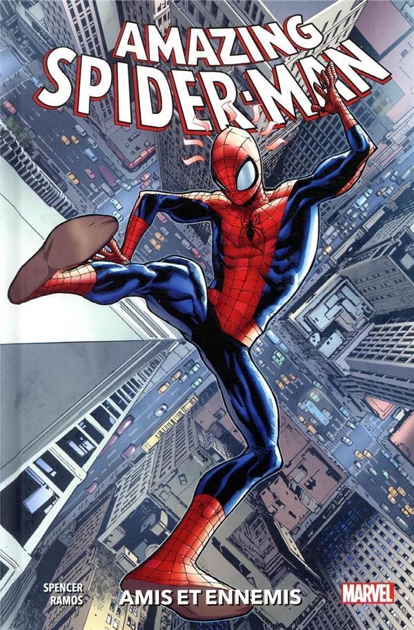 Couverture de Amazing Spider-Man (100% Marvel) -2- Amis et ennemis