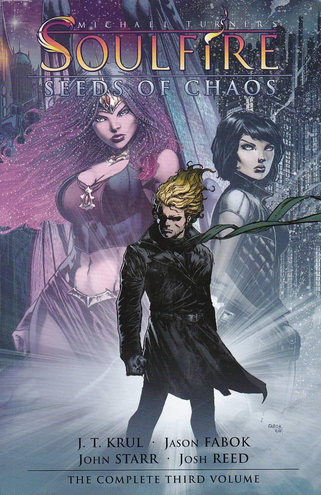 Couverture de Michael Turner's Soulfire (Aspen comics - 2004) -INT03- Seeds of chaos