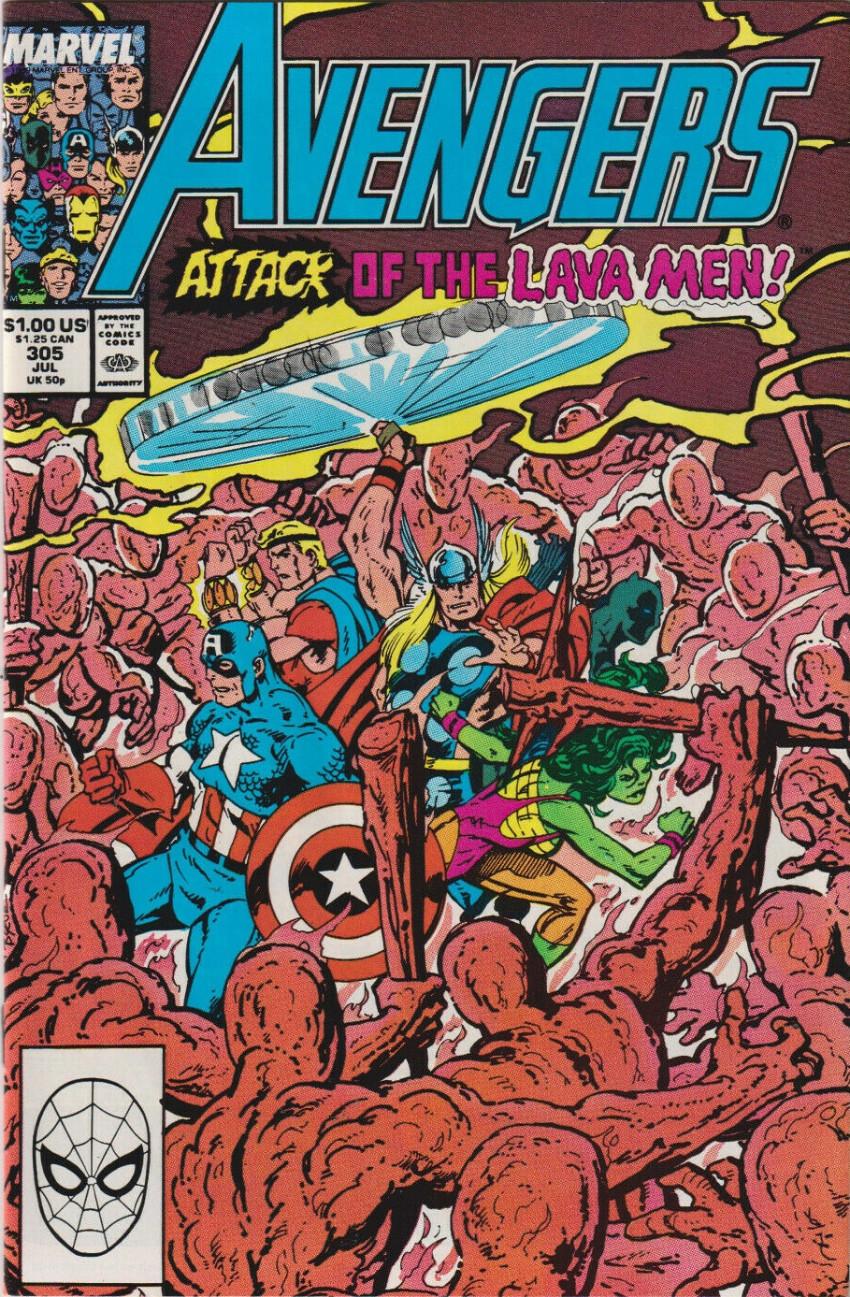Couverture de Avengers Vol. 1 (Marvel Comics - 1963) -305- Avengers Assemble!