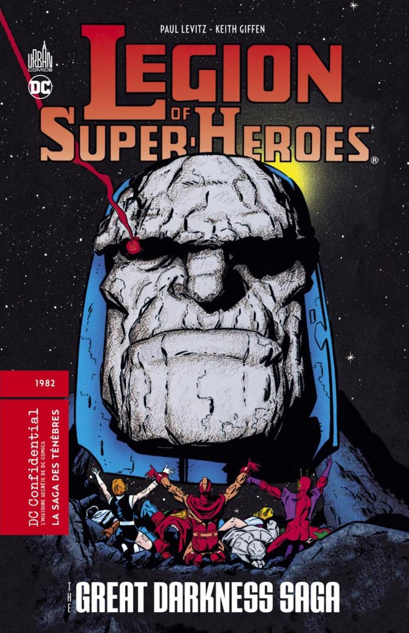 Couverture de DC Confidential (Urban comics) -5- Legion of Super-Heroes : La saga des ténèbres