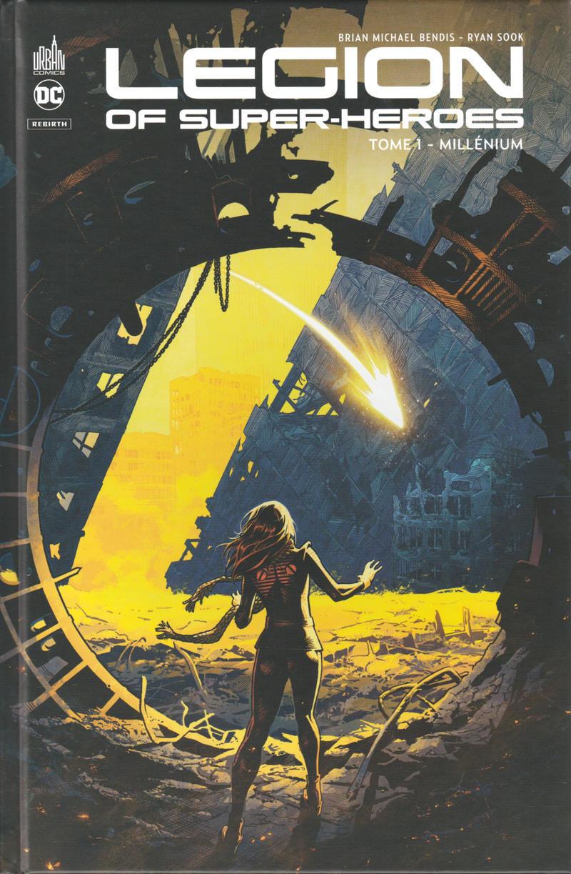 Couverture de Legion of Super-Heroes (Rebirth) -1- Millénium