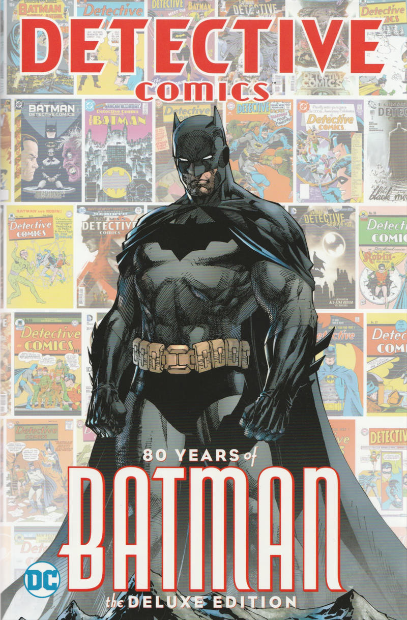 Couverture de Detective comics: 80 years of Batman - 80 years of Batman the deluxe edition