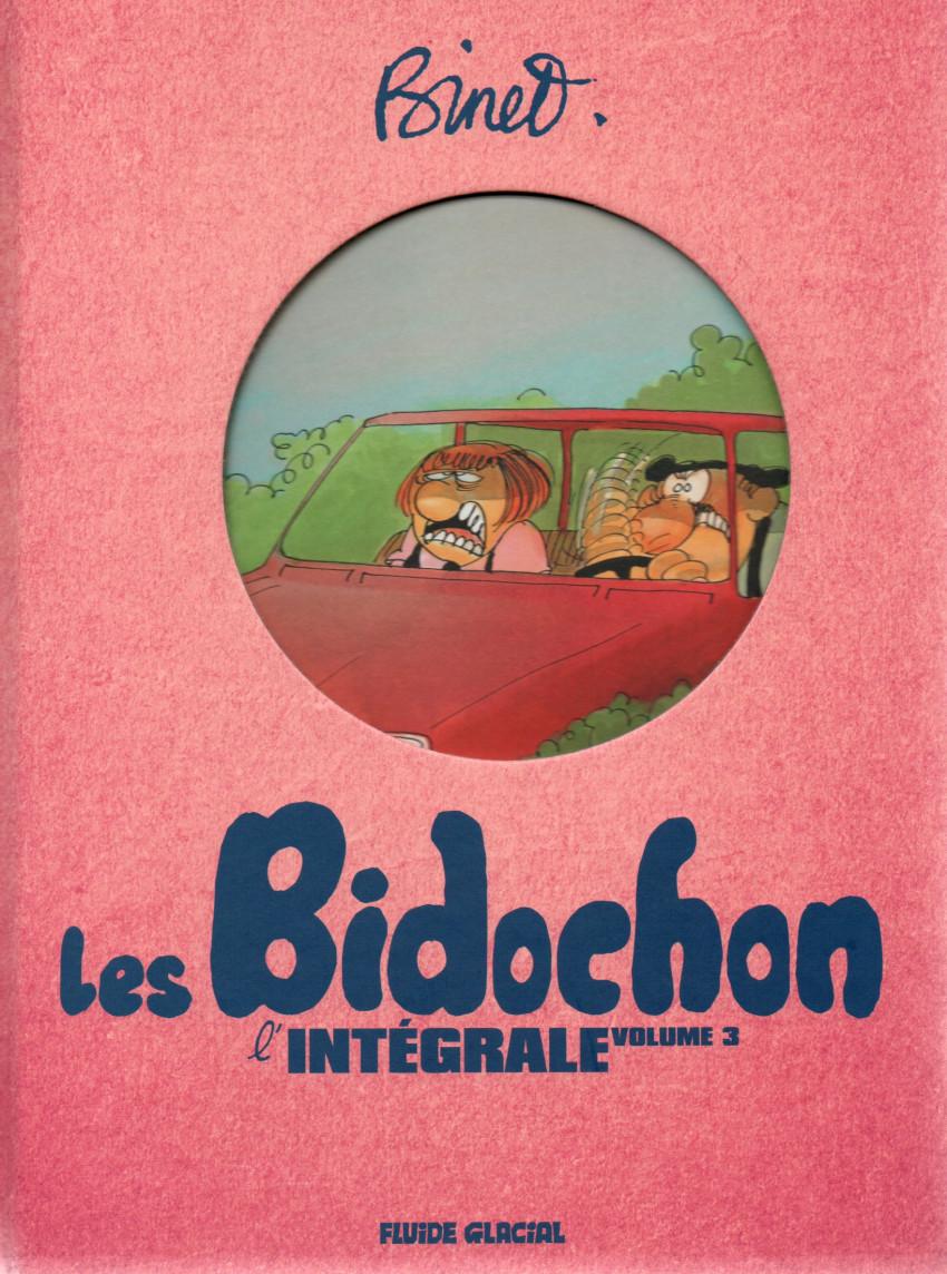 Couverture de Les bidochon -INT03- L'Intégrale volume 3