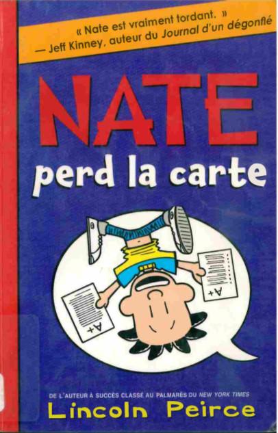 Couverture de Nate -5- Nate perd la carte