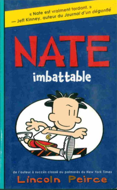 Couverture de Nate -6- Nate imbattable