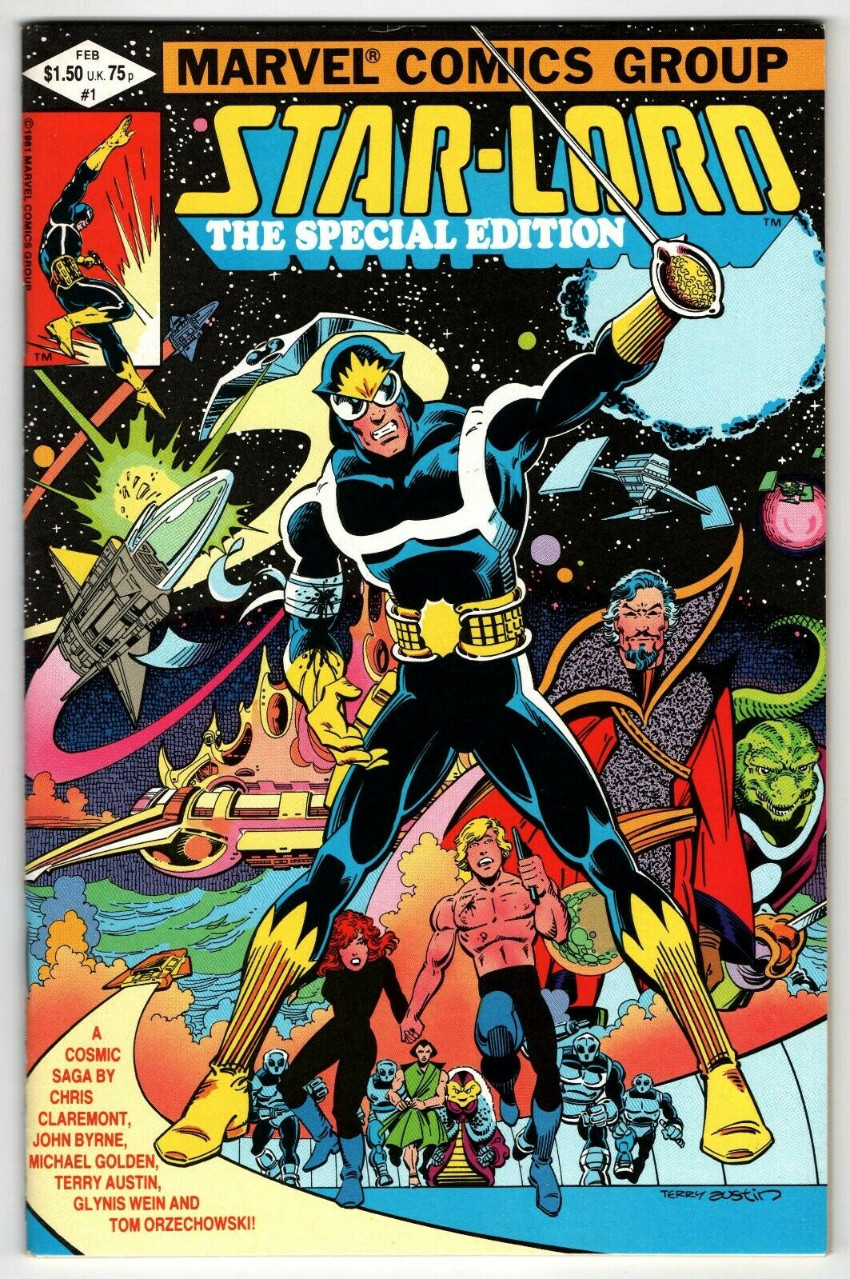 Couverture de Starlord The Special Edition (1982) -1- The Hollow crown