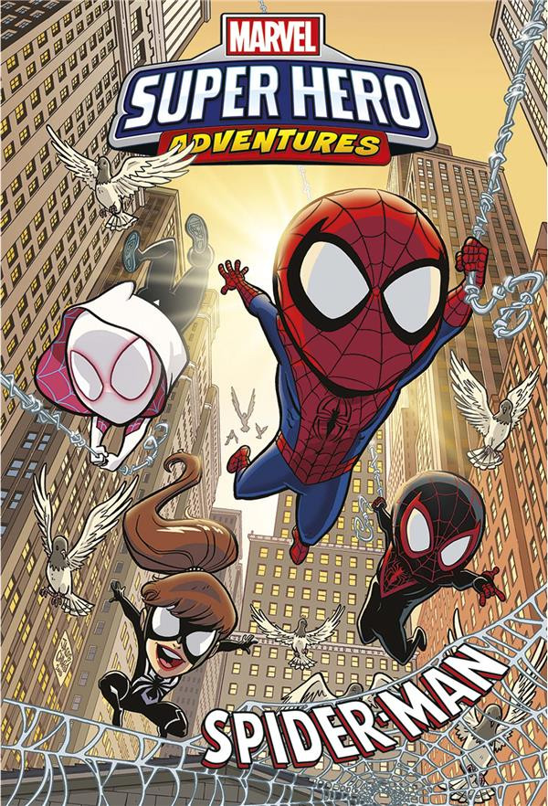 Couverture de Marvel Super Hero adventures - Spider-man