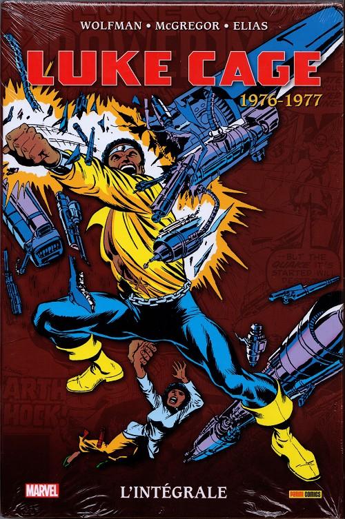 Couverture de Luke Cage (L'intégrale) -3- 1976-1977