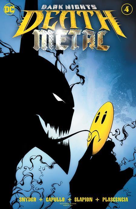 Couverture de Dark Nights: Death Metal (2020) -4- Anti-crisis