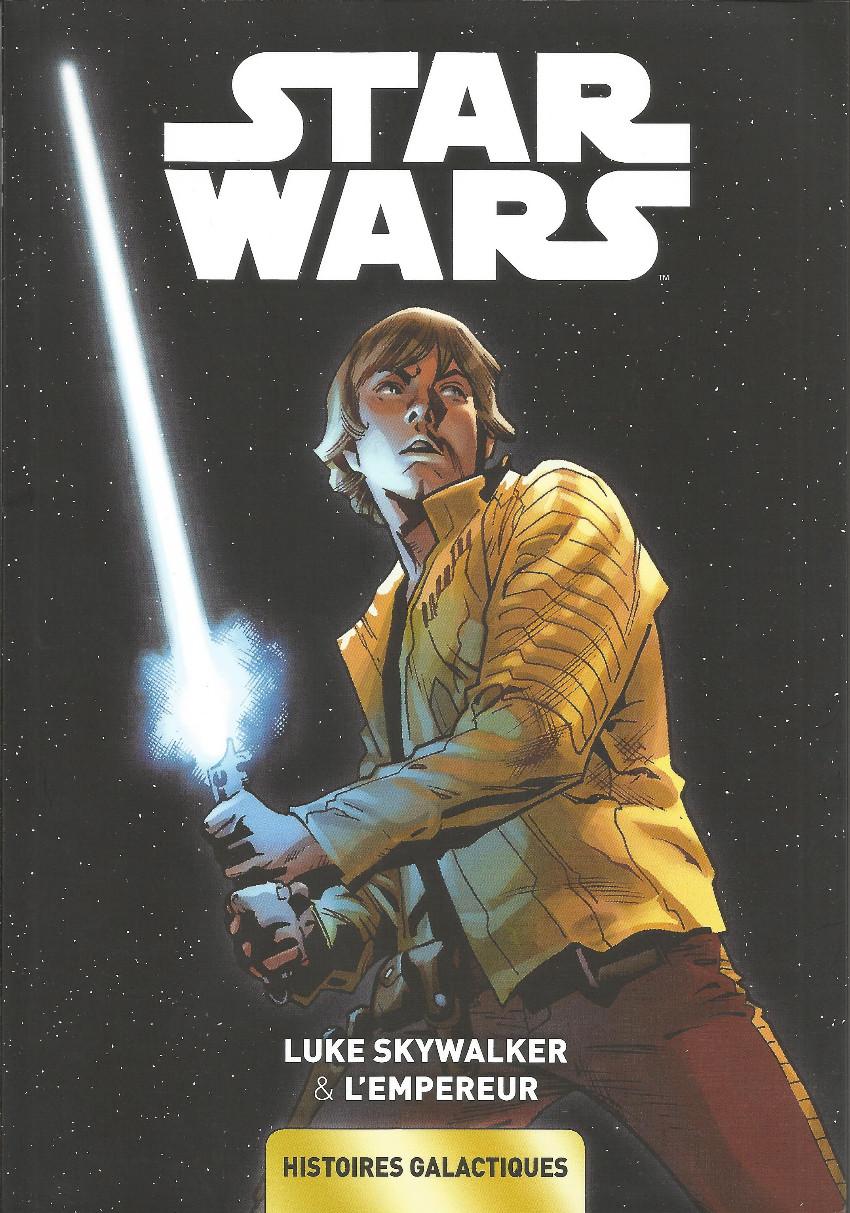 Couverture de Star Wars - Histoires galactiques -2- Luke Skywalker & L'Empereur