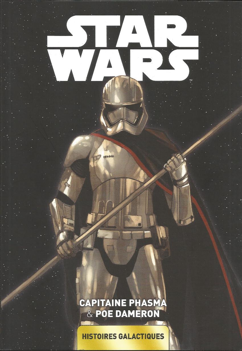 Couverture de Star Wars - Histoires galactiques -6- Capitaine Phasma & Poe Dameron