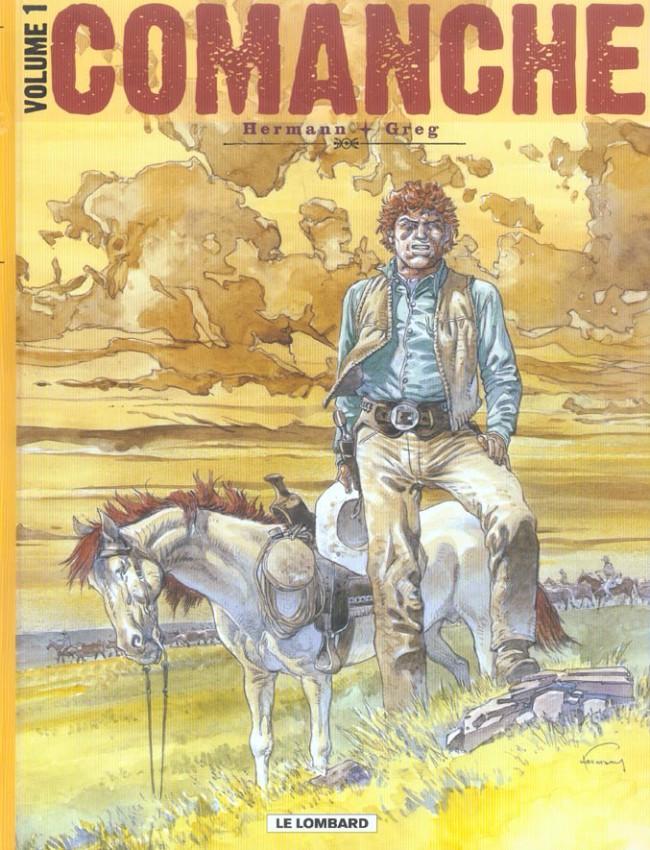 Couverture de Comanche -INT1- Volume 1