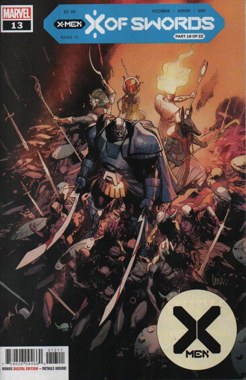 Couverture de X-Men Vol.5 (Marvel comics - 2019) -13- X of Swords: Chapter 10