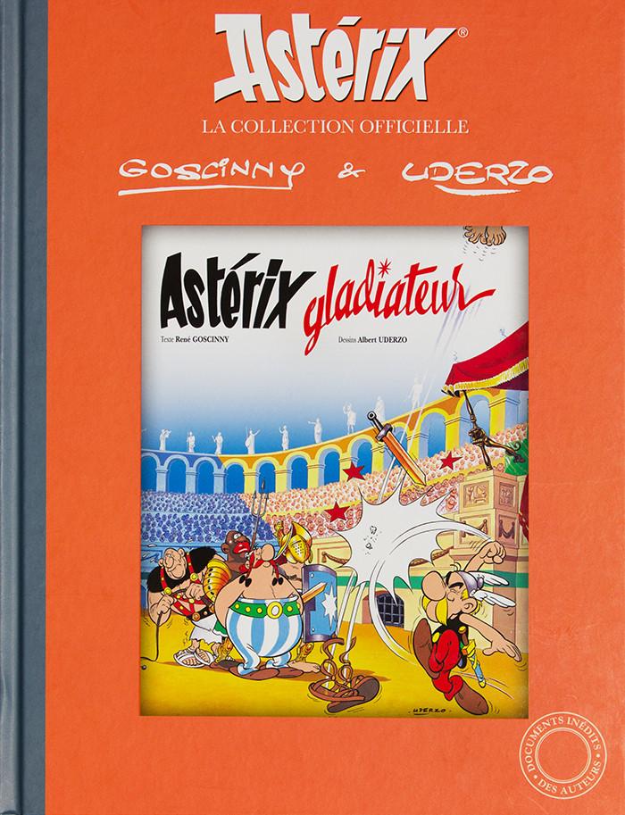 Couverture de Astérix (Hachette collections - La collection officielle) -4- Astérix Gladiateur
