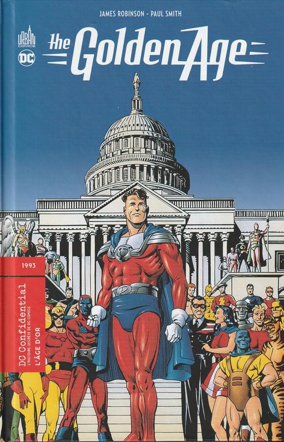 Couverture de DC Confidential (Urban comics) -4- Justice Society : The Golden Age (L'âge d'or)