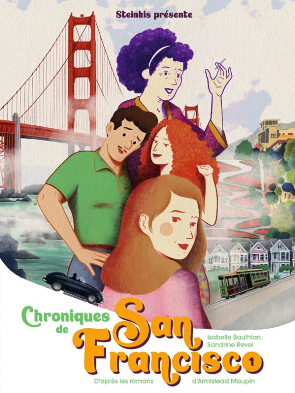 Chroniques de San Francisco, la bande dessinée Couv_408149