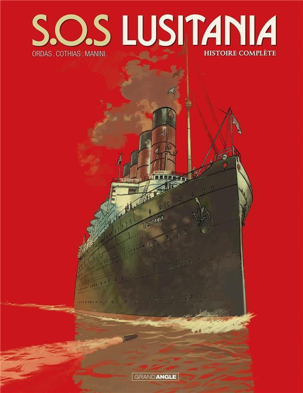 Couverture de S.O.S Lusitania - Tome INT