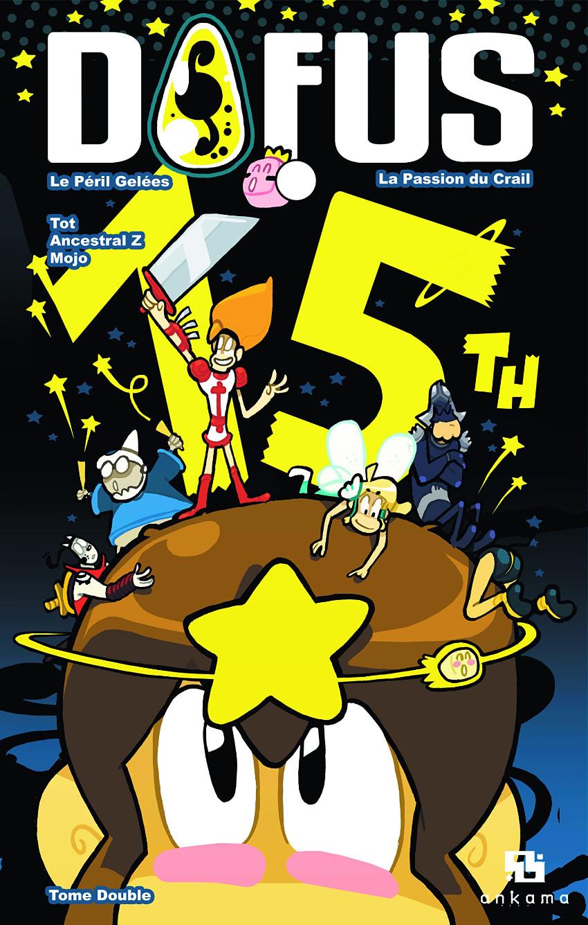 Couverture de Dofus - Volume double - Edition spéciale 15 ans -1- Tome 1