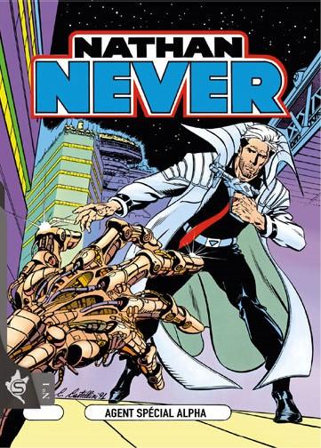 Couverture de Nathan Never (Editions Swikie) -1- Agent spécial Alpha