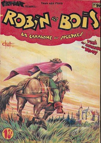 Couverture de Robin des bois (Pierre Mouchot) -16- La Caravane des spectres