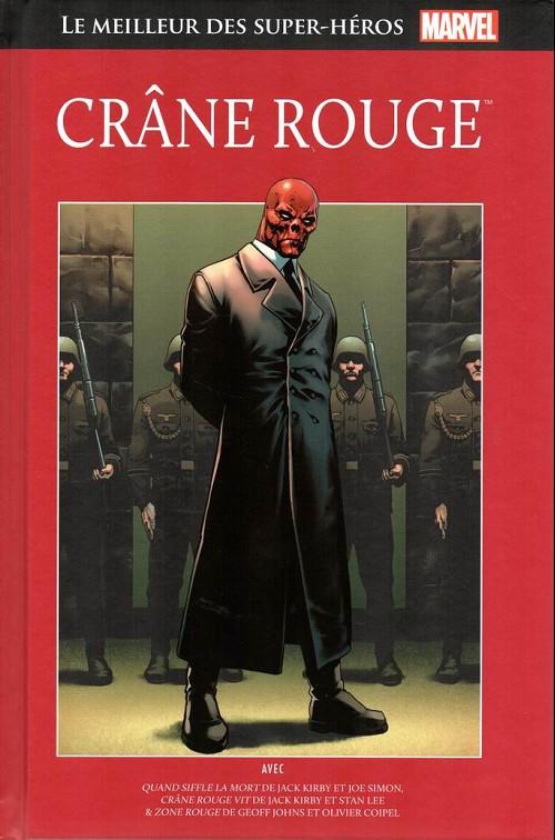 Couverture de Marvel Comics : Le meilleur des Super-Héros - La collection (Hachette) -123- Crâne rouge
