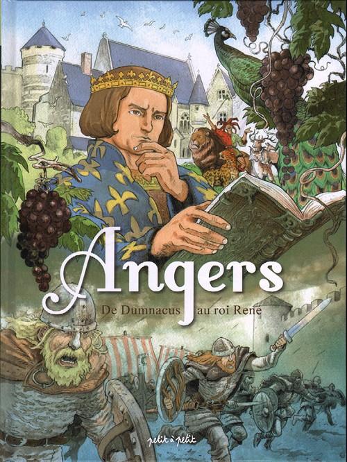 Couverture de Angers -1- De Dumnacus au roi René