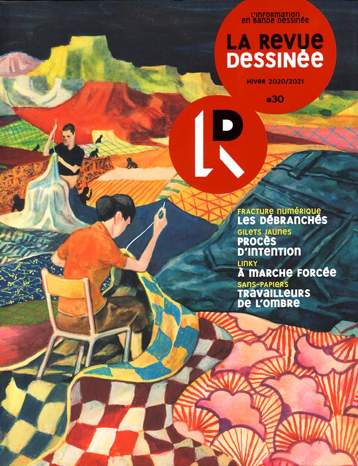 Couverture de La revue dessinée -30- #30