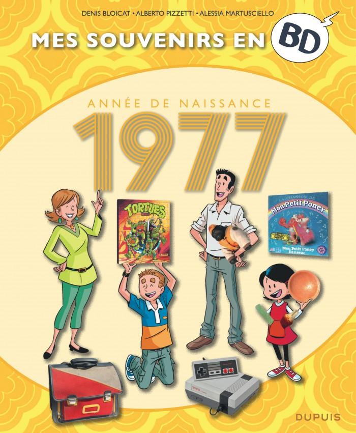 Couverture de Mes souvenirs en BD -38- Année de naissance 1977