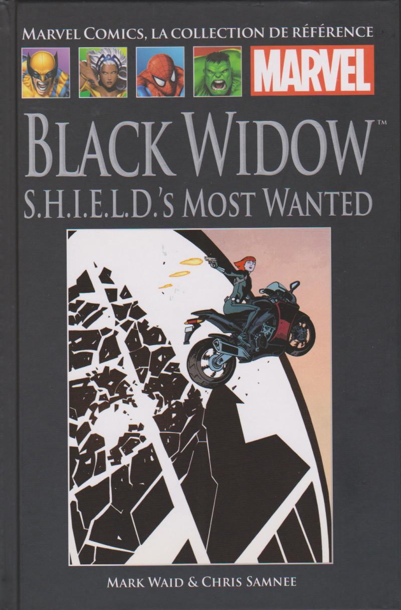 Couverture de Marvel Comics - La collection (Hachette) -168132- Black Widow - S.H.I.E.L.D.'s Most Wanted