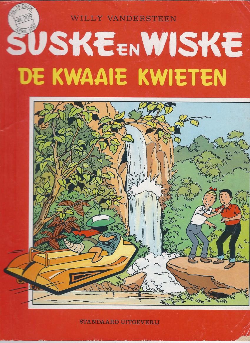 Couverture de Suske en Wiske -209- DE KWAAIE KWIETEN