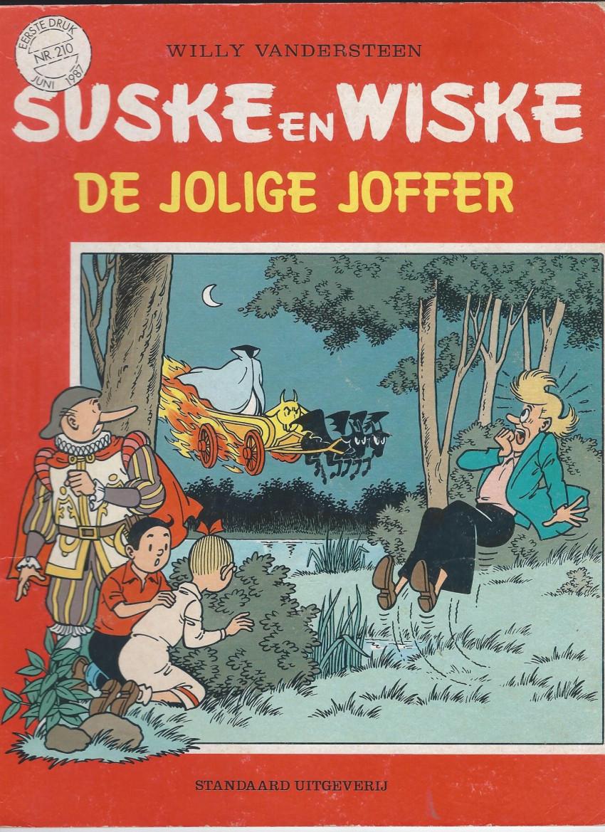 Couverture de Suske en Wiske -210- DE JOLIGE JOFFER