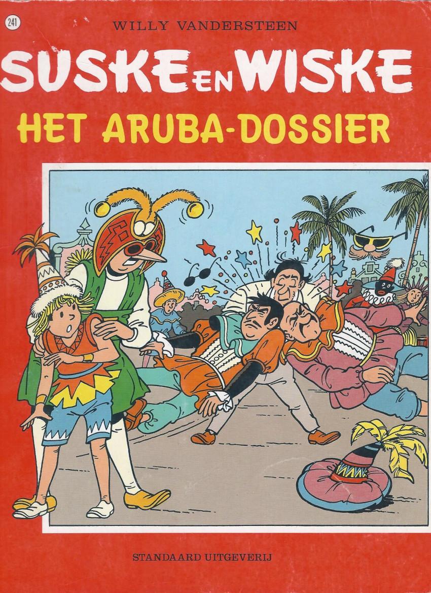 Couverture de Suske en Wiske -241- HET ARUBA-DOSSIER