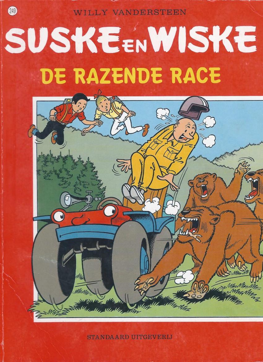 Couverture de Suske en Wiske -249- DE RAZENDE RACE