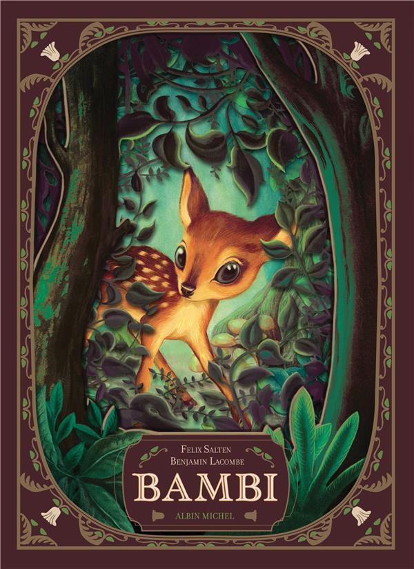 Couverture de (AUT) Lacombe, Benjamin - Bambi