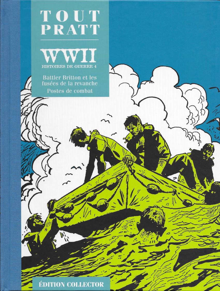 Couverture de Tout Pratt (collection Altaya) -46- WW II - Histoires de guerre 4