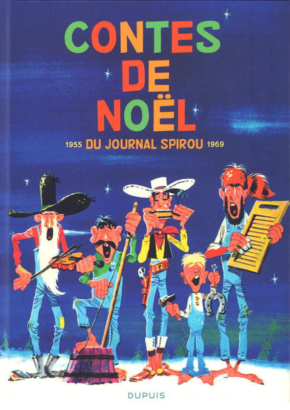 Couverture de Contes de Noël du journal Spirou - Contes de Noël du journal Spirou 1955-1969