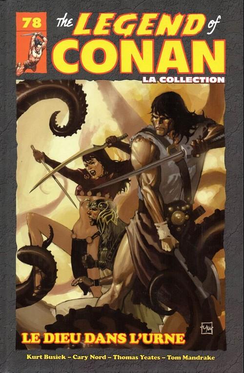 Couverture de Savage Sword of Conan (The) (puis The Legend of Conan) - La Collection (Hachette) -78- Le dieu dans l'urne