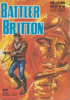Couverture de Battler Britton (Imperia) -Rec36- Collection reliée N°36 (du n° 281 au n° 288)
