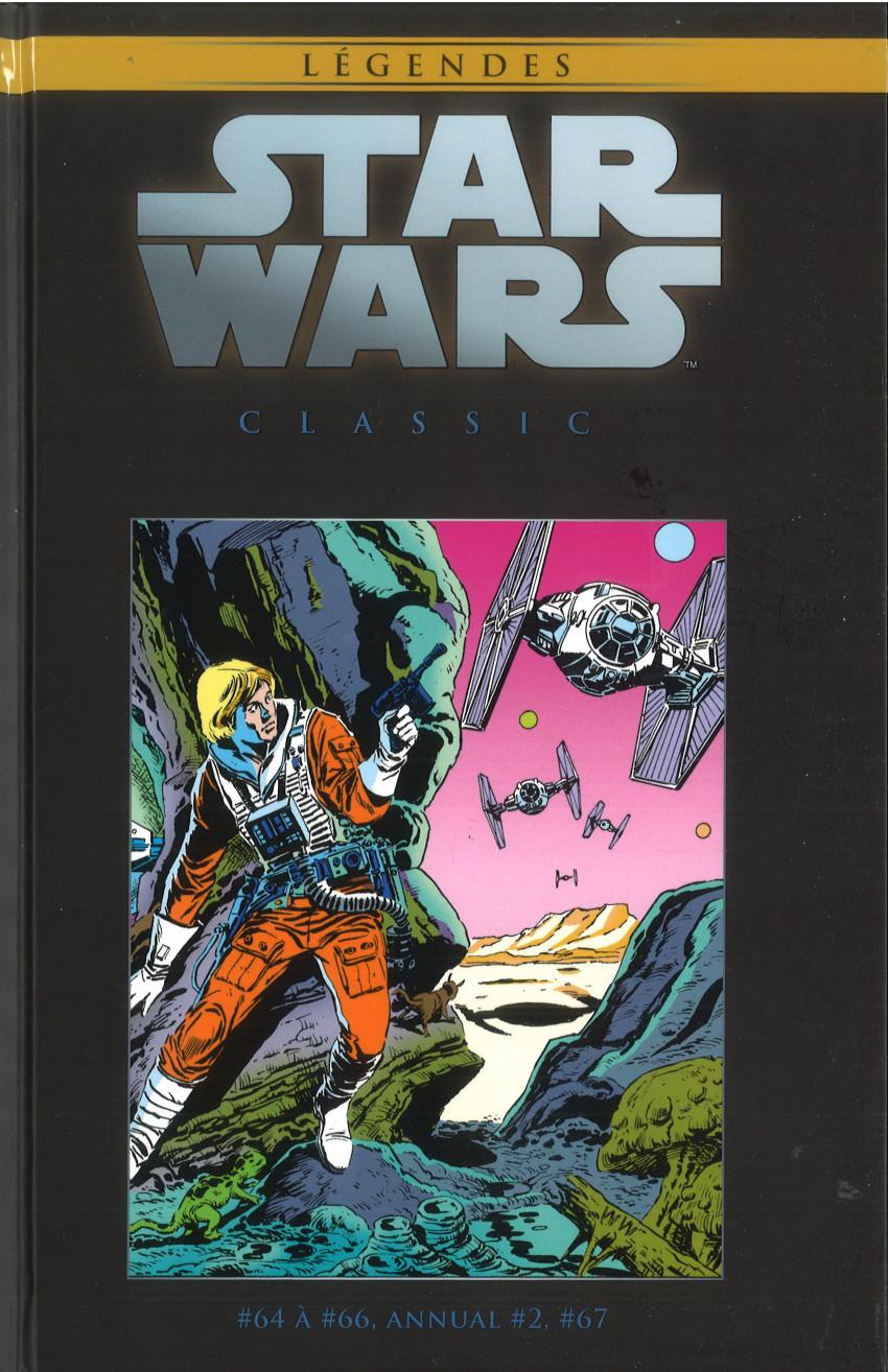 Couverture de Star Wars - Légendes - La Collection (Hachette) -127127- Star Wars Classic - #64 à #66, Annual #2, #67