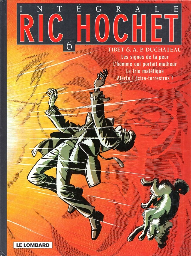 Couverture de Ric Hochet (Intégrale) -6- Tome 6