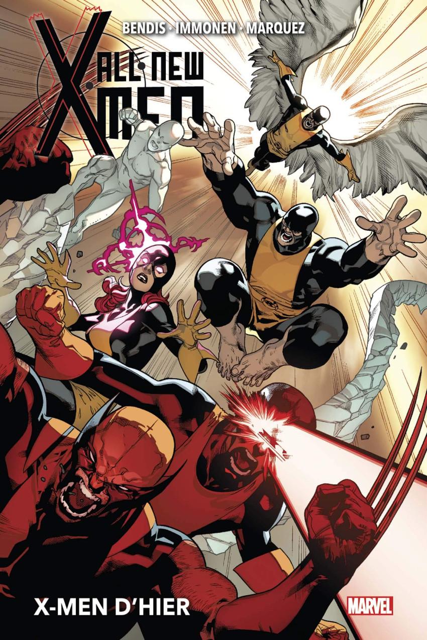 Couverture de All-New X-Men (Marvel Now! - 2014) -INT01- X-Men d'hier