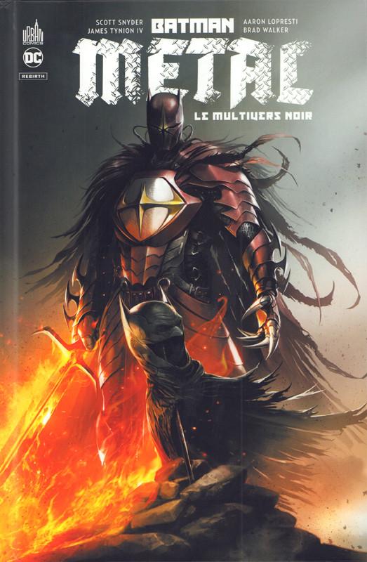 Couverture de Batman Metal -HS- Le Multivers noir