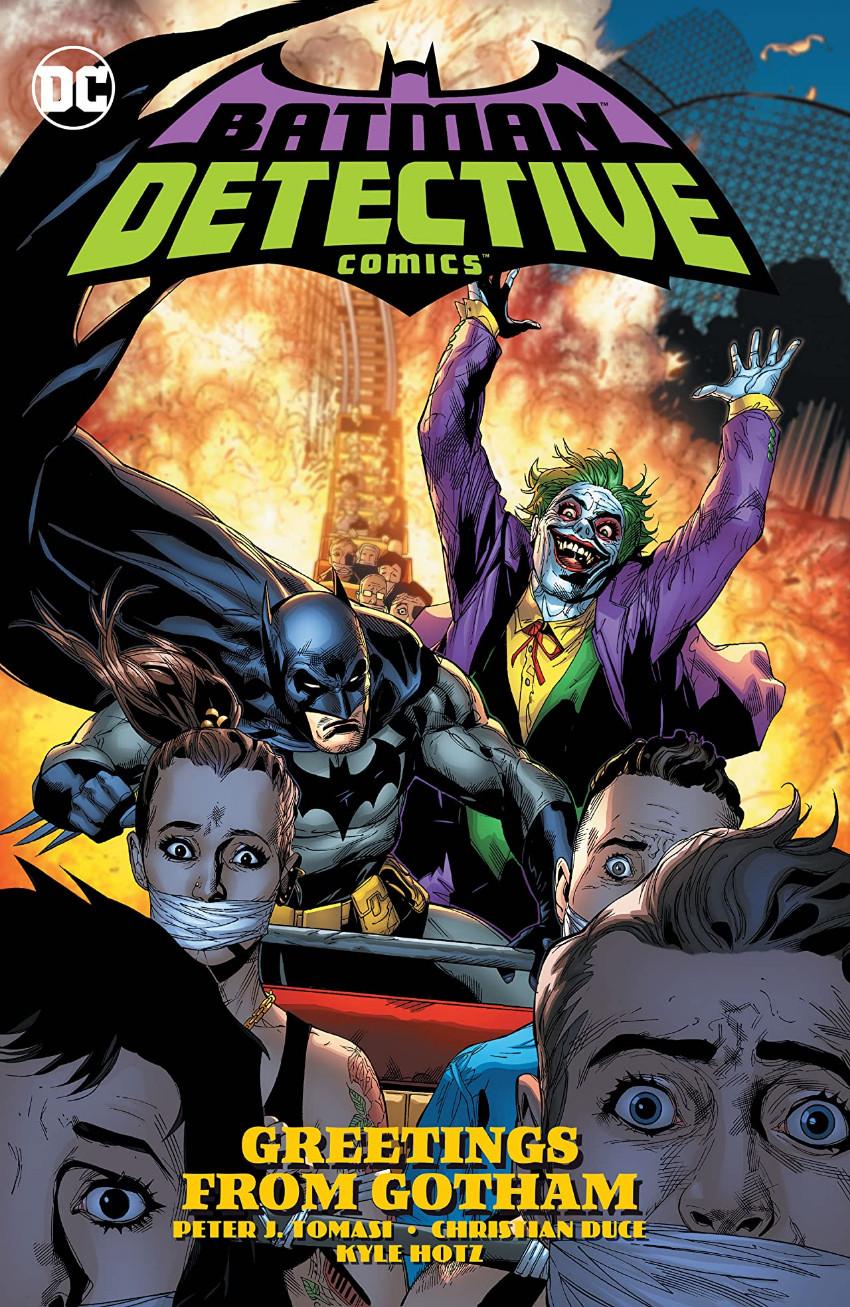 Couverture de Detective Comics (1937), Période Rebirth (2016) -INT12- Vol. 3: Greetings from Gotham