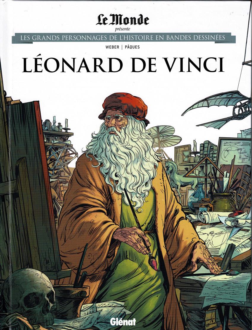 Couverture de Les grands Personnages de l'Histoire en bandes dessinées -48- Léonard de Vinci