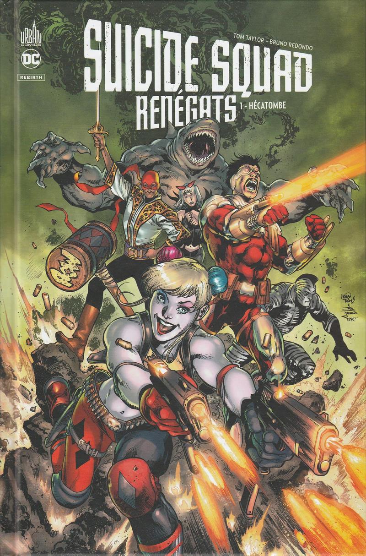 Couverture de Suicide Squad Renégats -1- Hécatombe