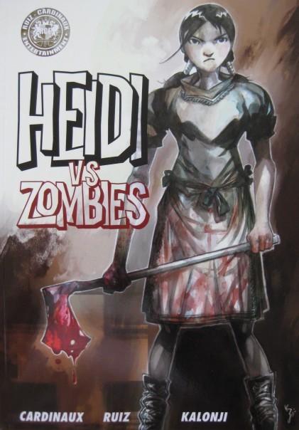 Couverture de Heidi vs zombies