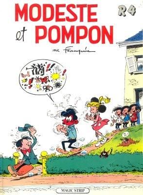 Couverture de Modeste et Pompon (Franquin) -84- Modeste et Pompon - R4