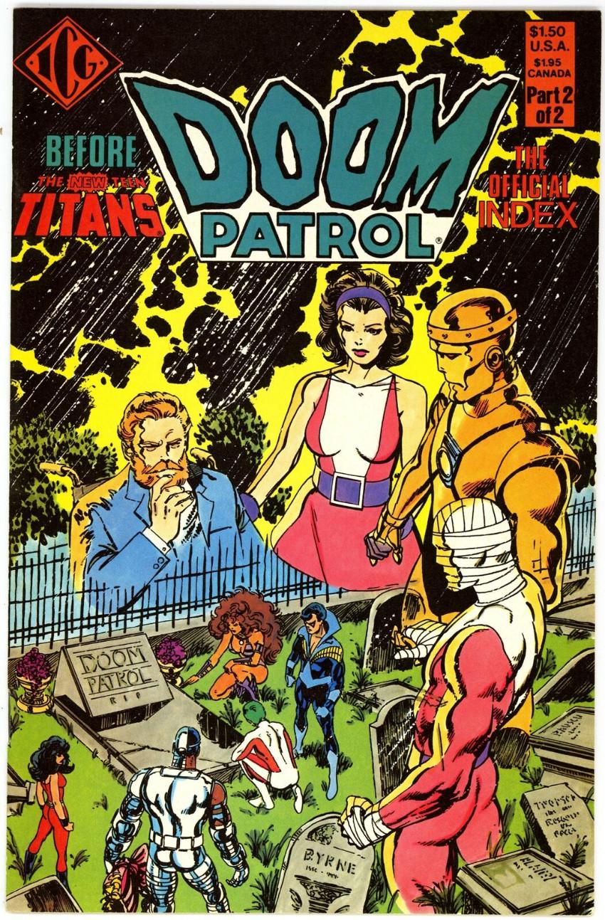Couverture de Doom Patrol Vol.2 (DC Comics - 1987) -SP2- Official index 2/2